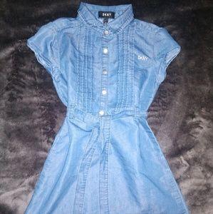 DKNY Denim dress